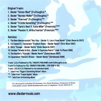 Diesler - Diggin It Somethin Rotten - EP Two